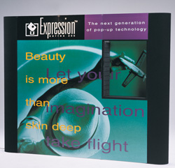 Expression Series 200 - Straight Frame Pop-up Display